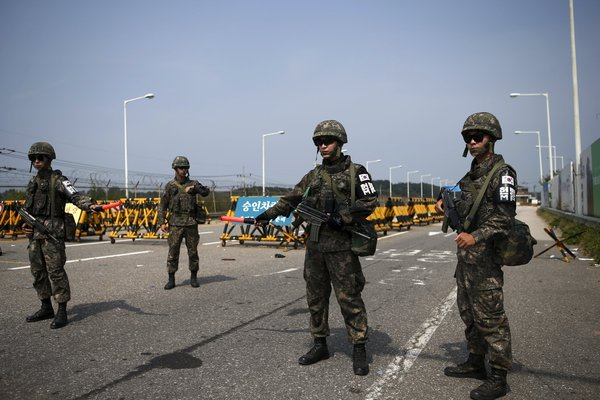 corea del nord, confine corea del nord, armi nucleari corea del nord