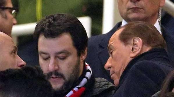 sondaggi elettorali, Berlusconi Salvini: