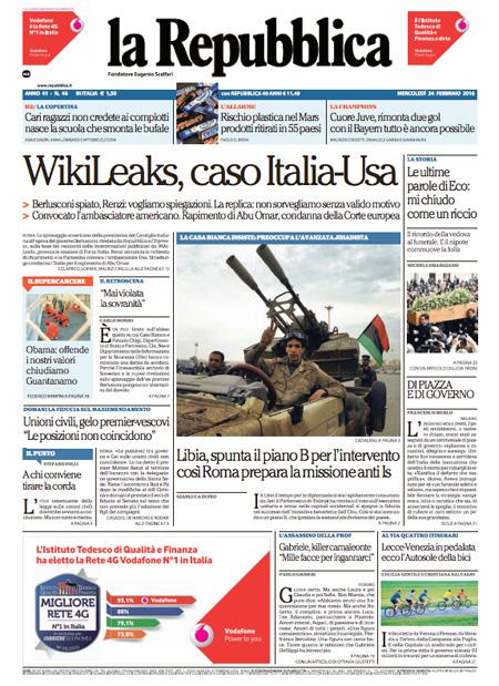 Repubblica 24 febbraio 2016