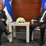 situazione finlandia Vladimir Putin e Sauli Niinistö
