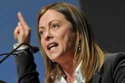 Giorgia Meloni: Italia sovrana, né Renzi né Raggi