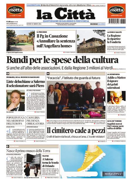 La Città di Salerno 10 marzo 2016