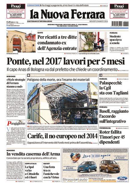 Nuova Ferrara 10 marzo 2016