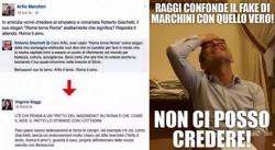 Raggi contro Giachetti su Fb: fake o vera e propria gaffe?