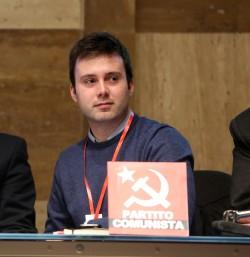 Alessandro Mustillo, candidato a sindaco di Roma per il Partito Comunista di Marco Rizzo