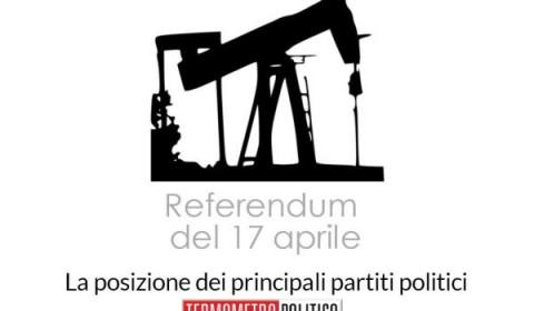 referendum 17 aprile trivelle posizione partiti