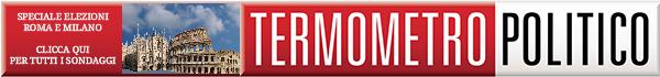 sondaggi comunali elezioni roma milano banner logo