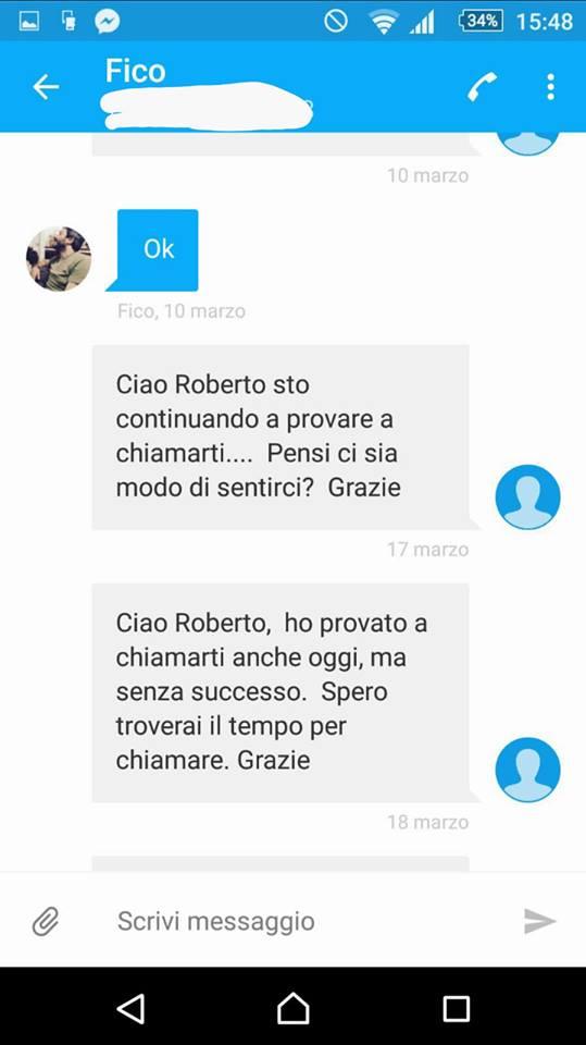 Federico Pizzarrotti pubblica su Facebook i messaggi senza risposta inviati al direttorio M5S