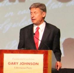 Gary Johnson elezioni usa partito libertariano