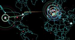 Una mappa di tutti gli attacchi informatici in tempo reale