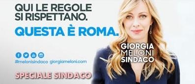 giorgia meloni programma comunali roma