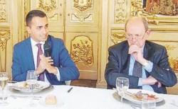 Di Maio e il caso Trilateral
