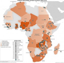 I cinesi in Africa, la mappa della penetrazione