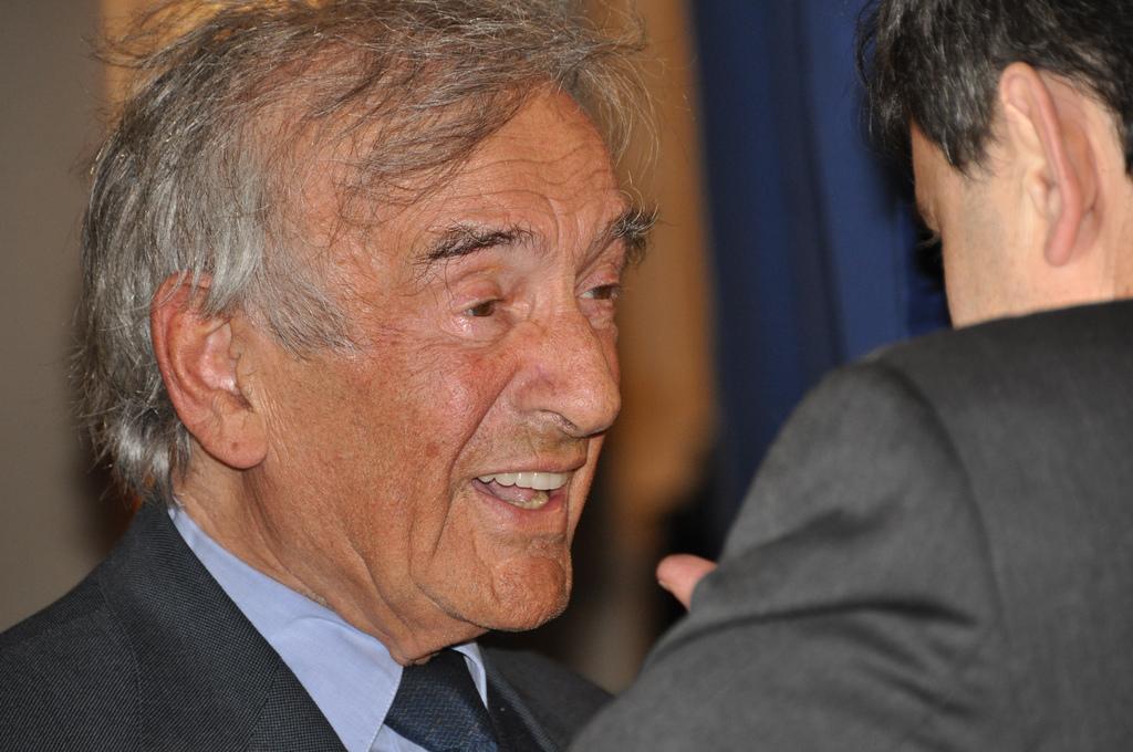 Il volto di Elie Wiesel