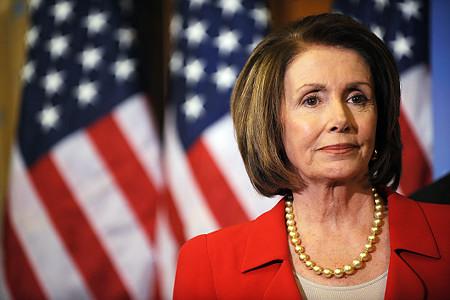 La capogruppo di minoranza alla Camera, Nancy Pelosi