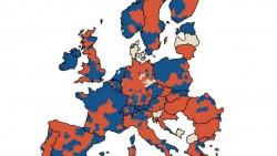 Popolazione in calo in Europa, le mappe