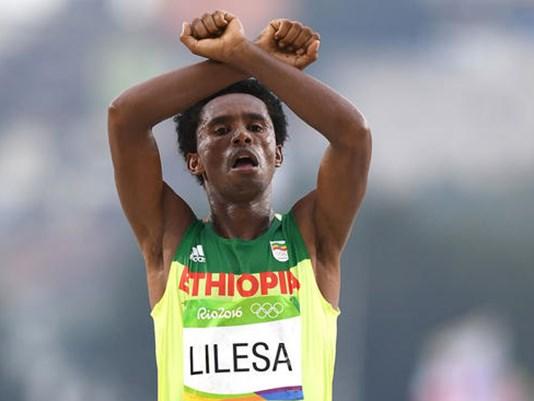 Olimpiadi, Etiopia, Lilesa