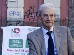 Referendum, s� dell�Anpi al dibattito Renzi-Smuraglia