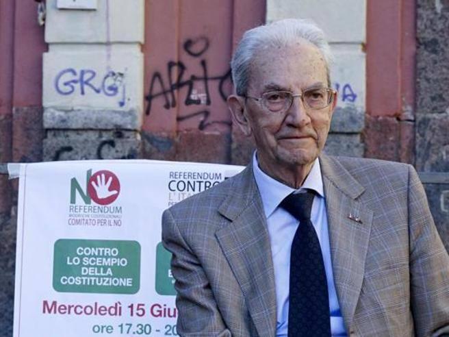 Referendum, Anpi, Smuraglia, Renzi