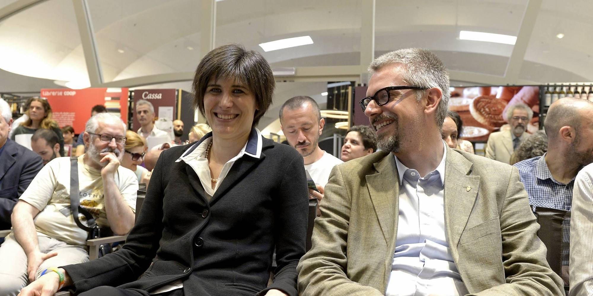 Il sindaco di Torino Chiara Appendino con il suo braccio destro Paolo Giordana