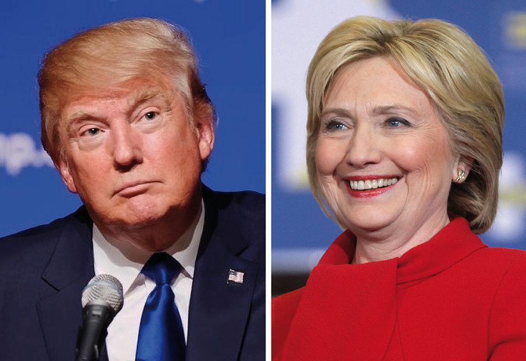 Presidenziali Usa, Donald Trump, Hillary Clinton