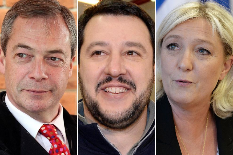 euroscetticismo, lega nord, le pen