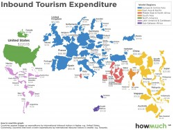 I paesi in cui i turisti spendono di pi�