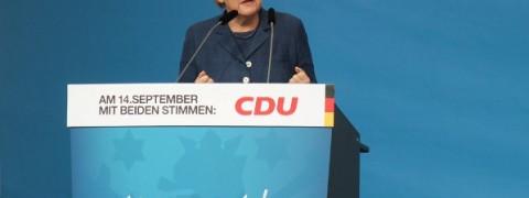 Angela Merkel elezioni germania