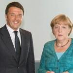 Angela Merkel-Matteo Renzi