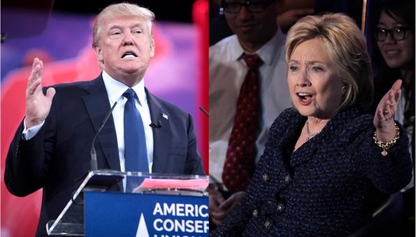 Donald Trump e Hillary Clinton sondaggi usa intenzioni di voto previsioni