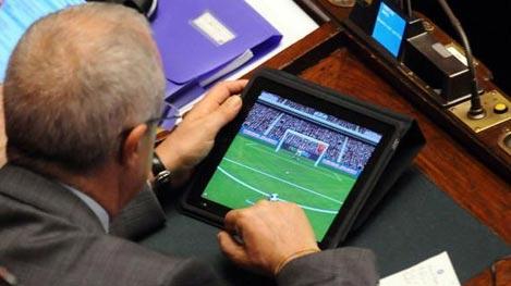 Camera, nuovo regolamento: vietato filmare i deputati fannulloni