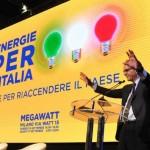 Parisi, convention MegaWatt