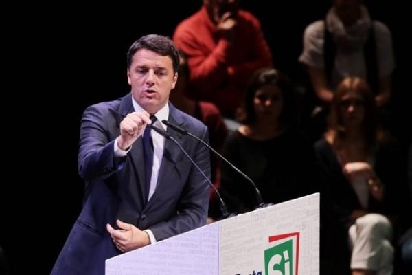 Renzi, referendum costituzionale