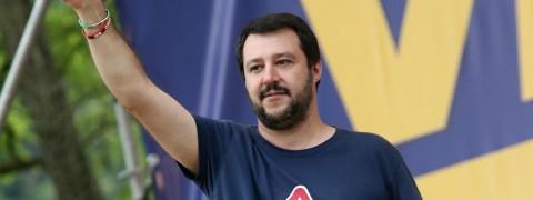 sondaggi elettorali, politica italia, Salvini, Pontida
