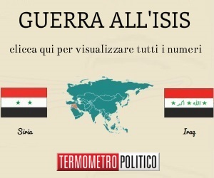 guerra all'isis in Siria ed Iraq