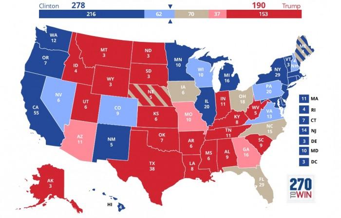 sondaggi usa intenzioni di voto 6 settembre