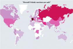 Vaccini: lo stato dello scetticismo nel mondo
