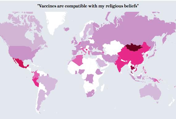 vaccini, mappe