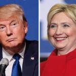 Donald Trump e Hillary Clinton sondaggi usa 2016 intenzioni di voto situazione e previsioni 11 ottobre stati in bilico