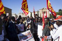 No Renzi Day:migranti e italiani in Piazza S.Giovanni per dire No a Renzi