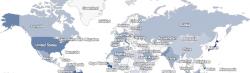 Mappe: in quale paese � pi� diffuso il tuo cognome?