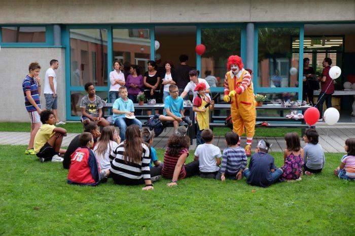 scuola, mcdonald's