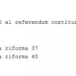 sondaggi referendum costituzionale,