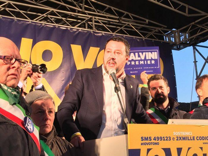 Matteo Salvini, sondaggi politici, pensioni notizie precoci