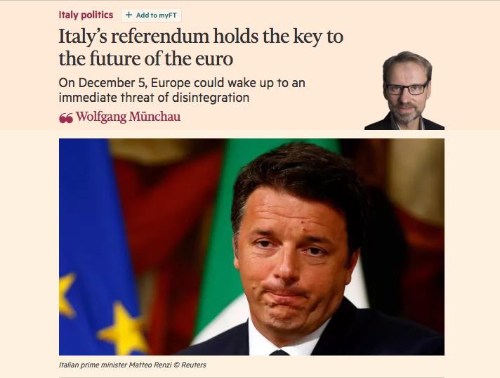 Renzi, Munchau, referendum