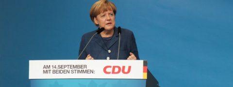 angela merkel e i sondaggi elettorali germania