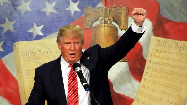 Donald Trump tra i politici del 2016
