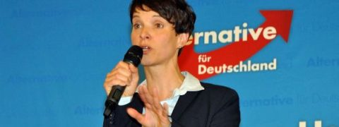 Frauke Petry, leader dell'estrema destra tedesca AFD
