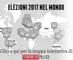 Una grafica interattiva che mostra tutte le elezioni del mondo nel 2017