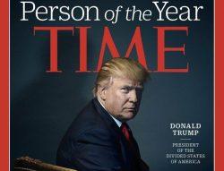 Trump eletto personaggio dell'anno dal Time
